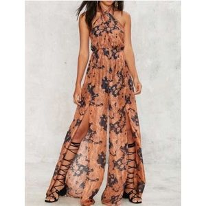 Nasty Gal summer nights flowing jumpsuit